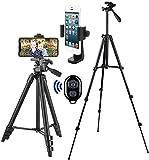 Handy Stativ Smartphone Kamera Stative Lightweight Tripod Ständer für iPhone Stativ Samsung Halter Halterung Leichtes...