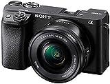 Sony Alpha 6400   APS-C Spiegellose Kamera mit Sony 16-50mm f/3.5-5.6 Power-Zoom-Objektiv ( Schneller 0,02s Autofokus 24,2 Megapixel,...