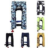 Xiaomu Rettungsweste Automatik 150N, Rettungsweste Erwachsene Aufblasbare Schwimmweste, Zuverlässig für Den Wassersport,Schwimmen,Fahren,...