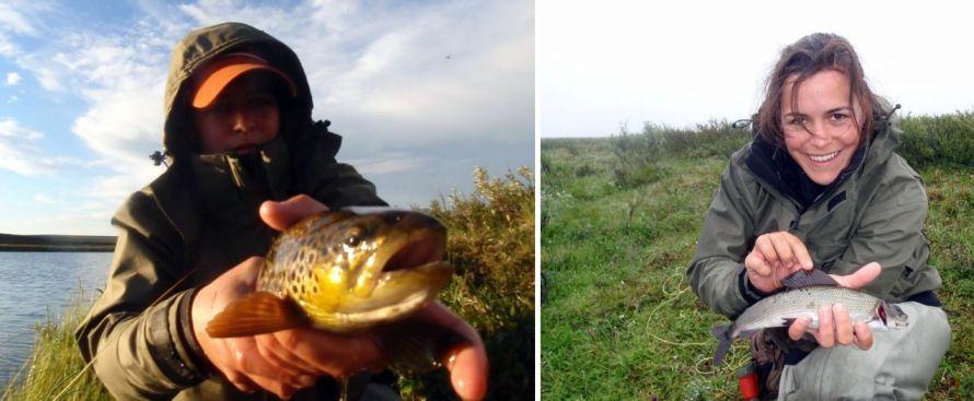 Photo of Fliegenfischen auf Äschen, Forellen und Saiblinge in schwedisch Lappland