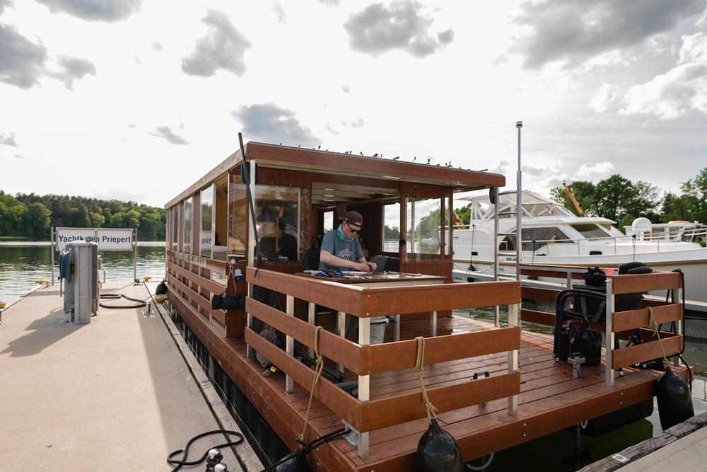 Hausboot: leihen in Priepert