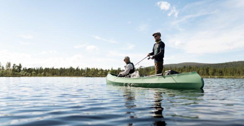Fishing from Kanu