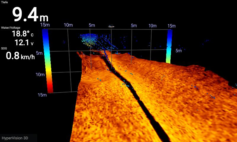 3-D Scan Raymarine Beispiel