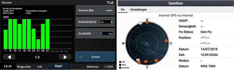 Echolot Screenshot