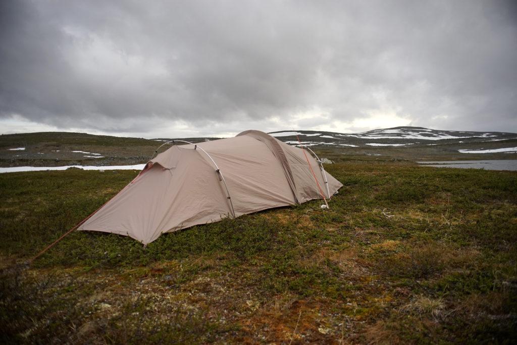 Zelten in Lappland