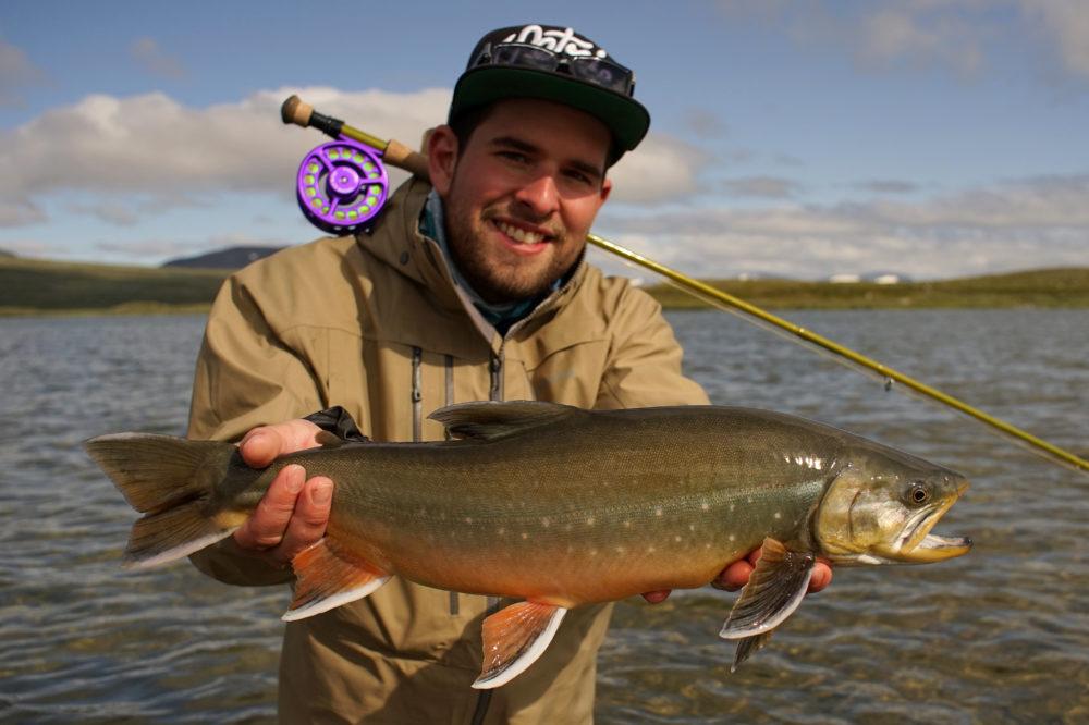 Fliegenfischen auf Saiblinge