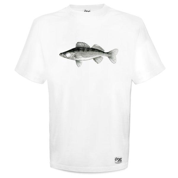 T-Shirt mit Zander Druck