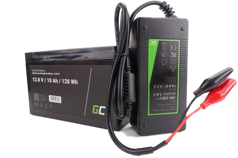 Green Cell 2V10Ah LiFePo4 Akku