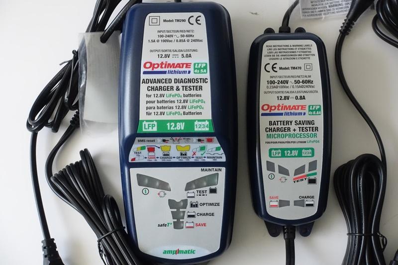 Ladegeräte für LiFePo4 Akkus